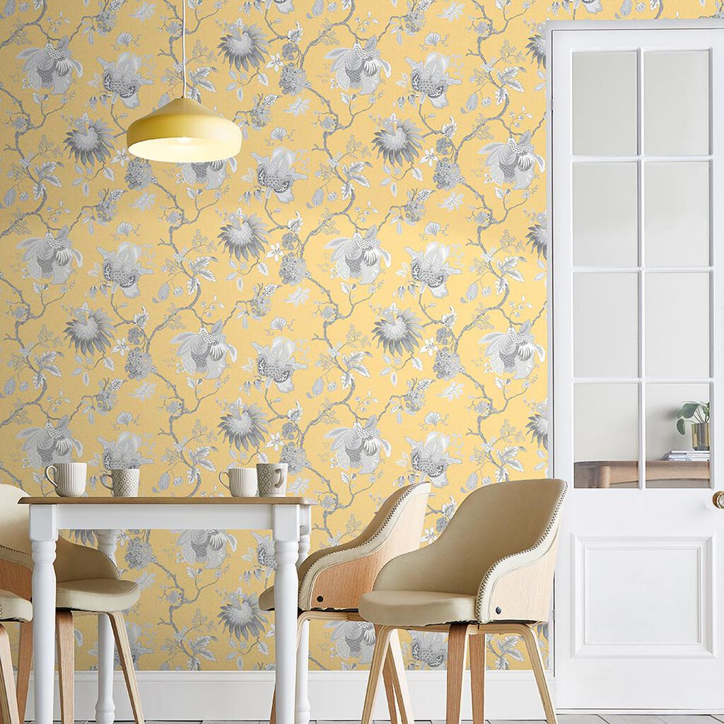 Bordado Citron Wallpaper, , large