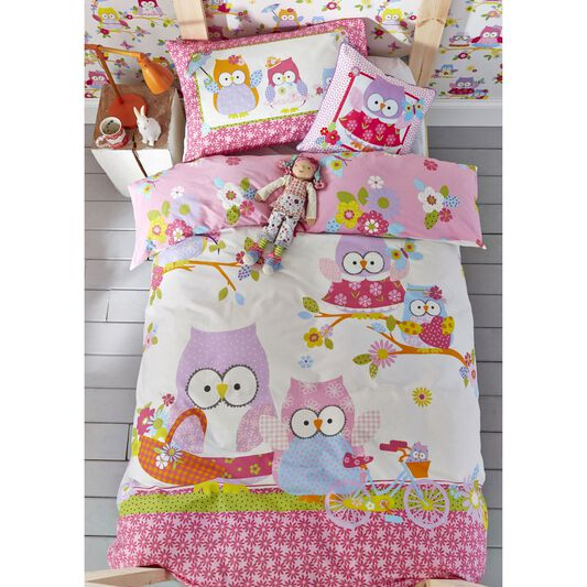 Olive The Owl Pillowcase, , large