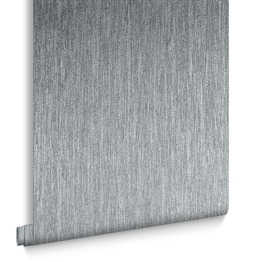 Boucle Silver Wallpaper, , large