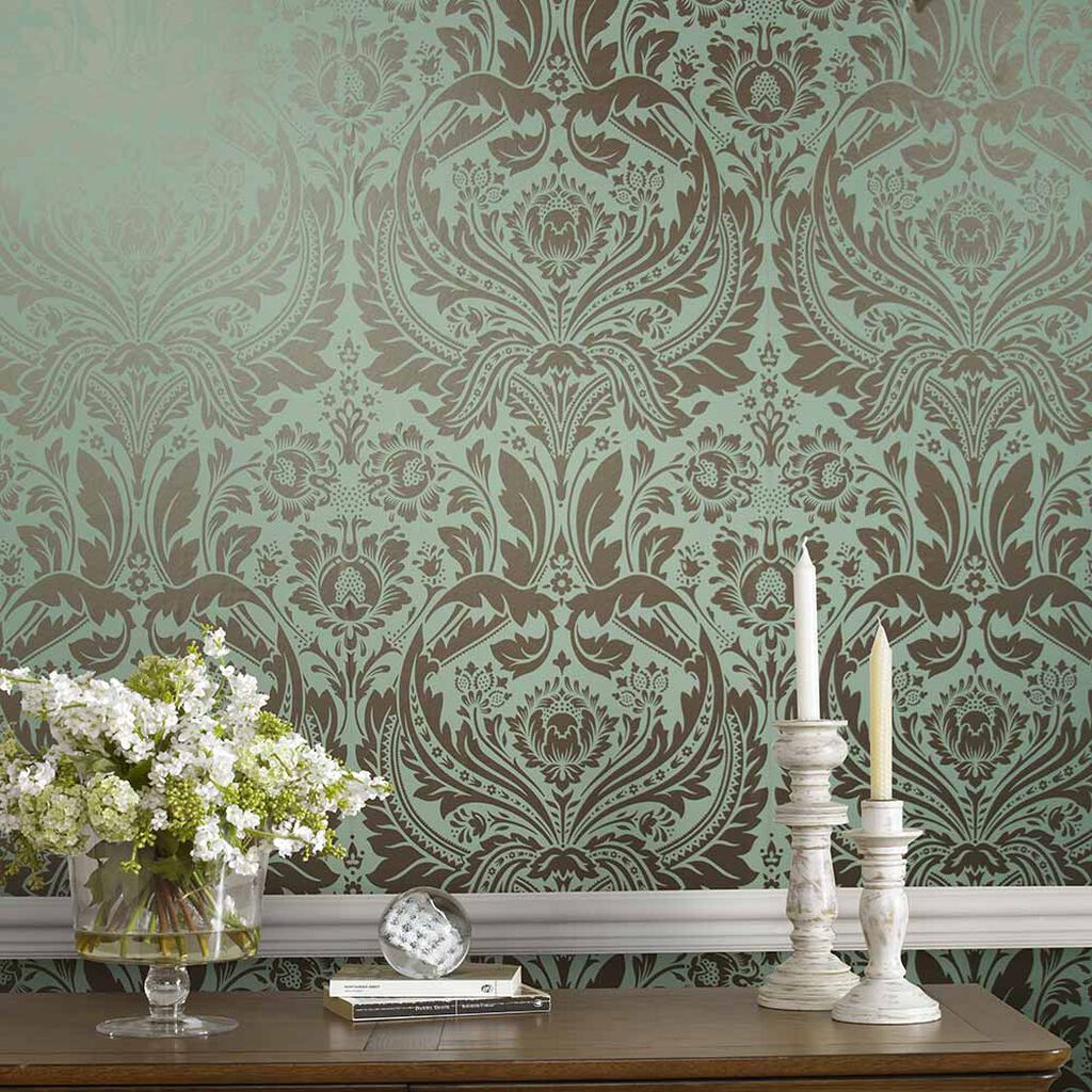 Desire Mint Wallpaper, , large