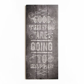 Good Things Print On Wood Wall Art , , large