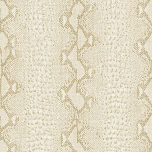 Snake White and Gold Wallpaper, , large