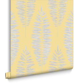 Lucia Yellow Wallpaper, , large