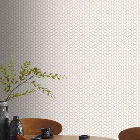 Helice Taupe Wallpaper, , large