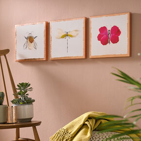 Beautiful Bugs Printed Canvas Wall Art, , large