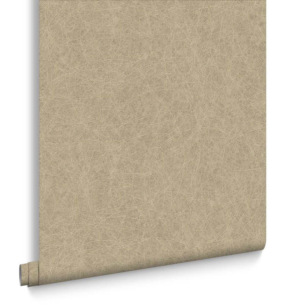 Twist Beige and Gold Wallpaper, , large