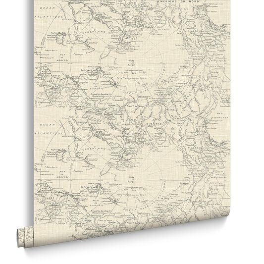 Map Wallpaper Uk Map Wallpaper | Cream Map Wallpaper | Graham & Brown UK