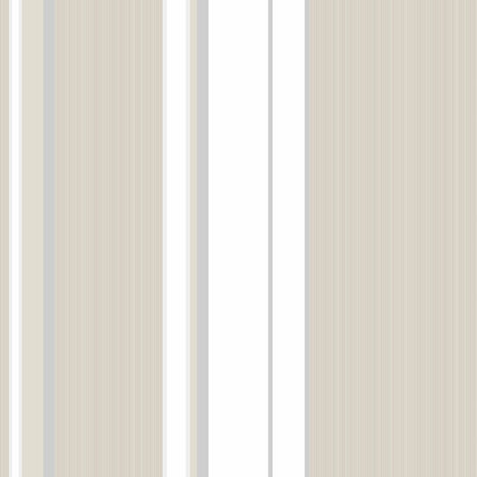 Gradient Stripe Taupe Wallpaper, , large