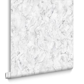Marble White Wallpaper , , large