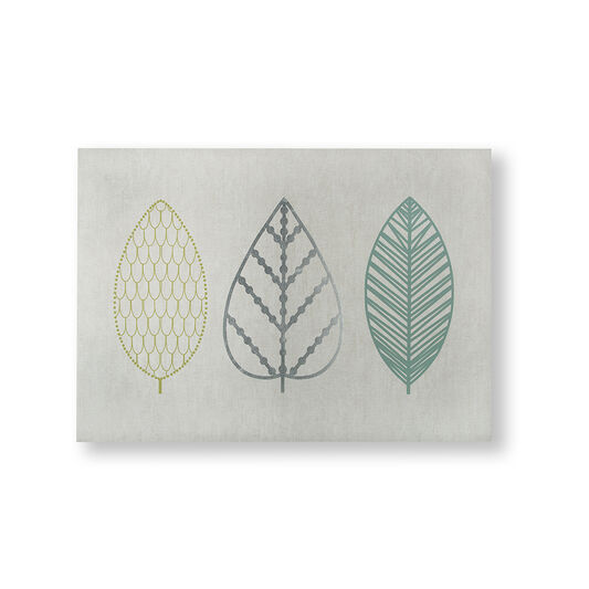 Déco Murale Scandi Leaf Trio, , large