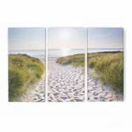 Beach Walk Printed Canvas Wall Art, , large