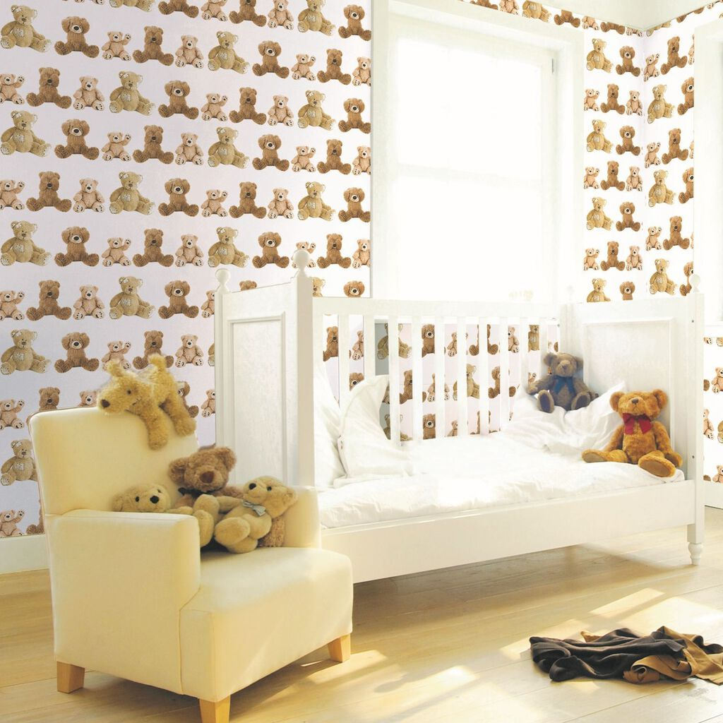 Teddy Bears Behang, , large