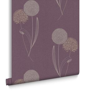 Alium Purple Wallpaper, , large