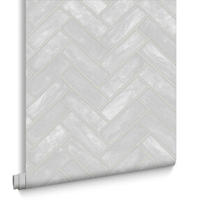 Lustro White Wallpaper, , large