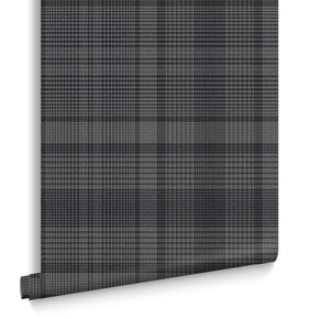 Heritage Plaid Tapete Anthrazit, , large