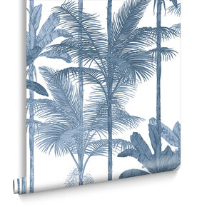 Jungle Cobalt Wallpaper, , large