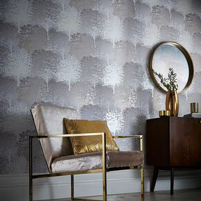 Grove Natural Wallpaper, , large