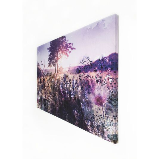 Layered Landscape Printed Canvas Wall Art, , large