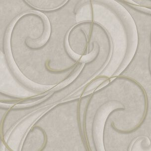 Flamenco Tapete Taupe und Champagner, , large