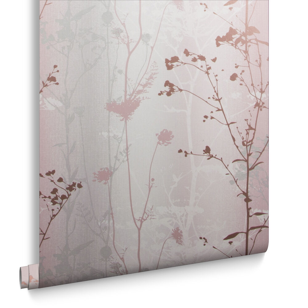 Wild Flower Blush Wallpaper, ...