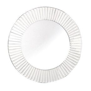 Aurora Round Facet Mirror, , large