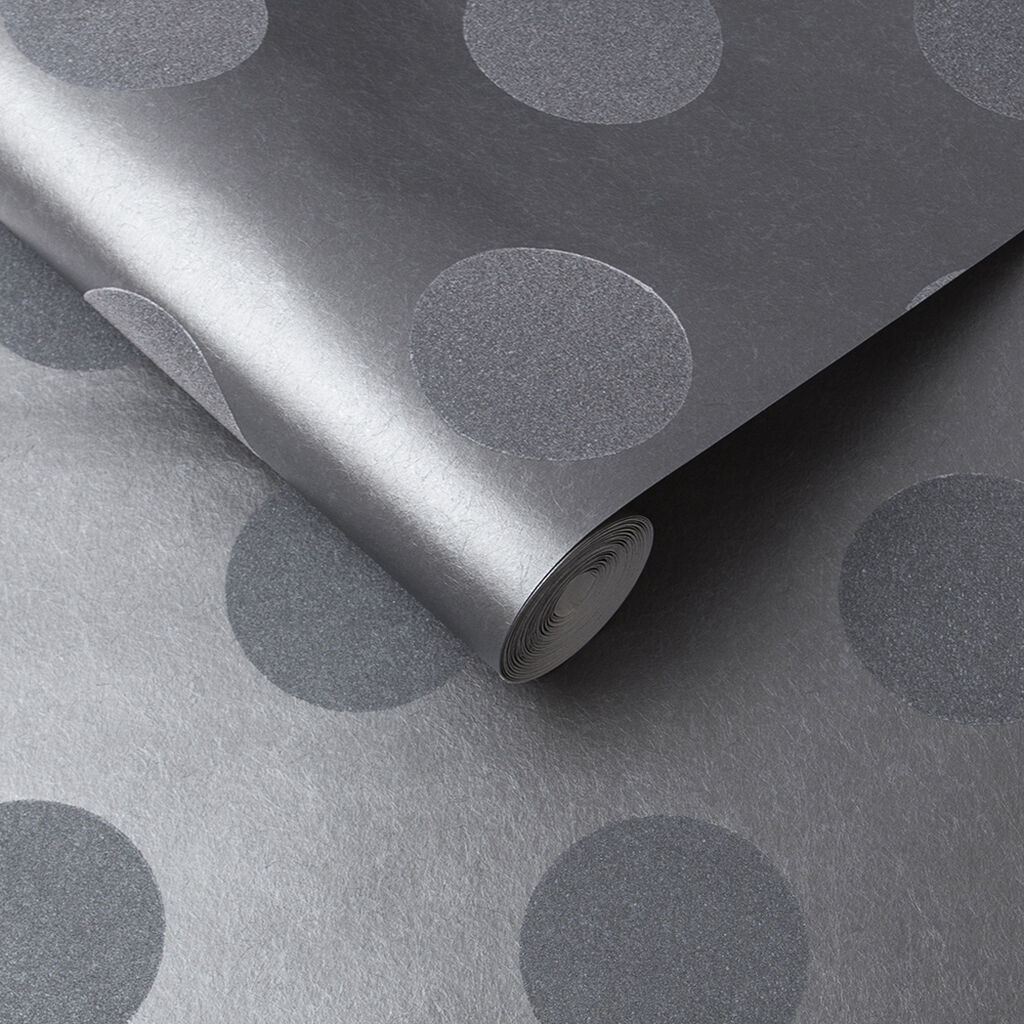 Polka Steel Bead Wallpaper, , large
