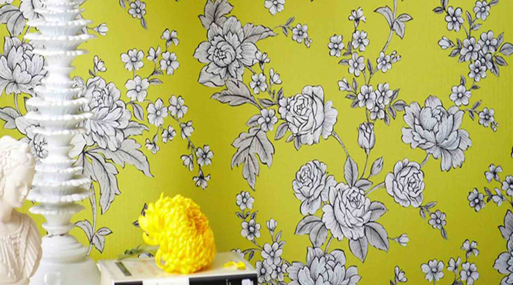 Top 5 Floral Wallpaper Designs