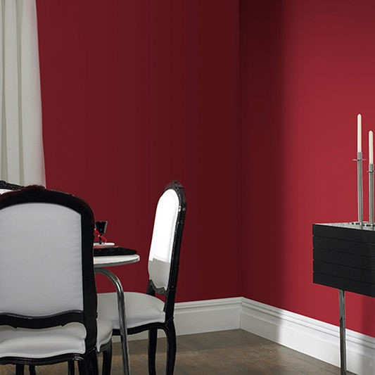 How To Decorate With Red In The Home, Red And Brown Dining Room Ideas