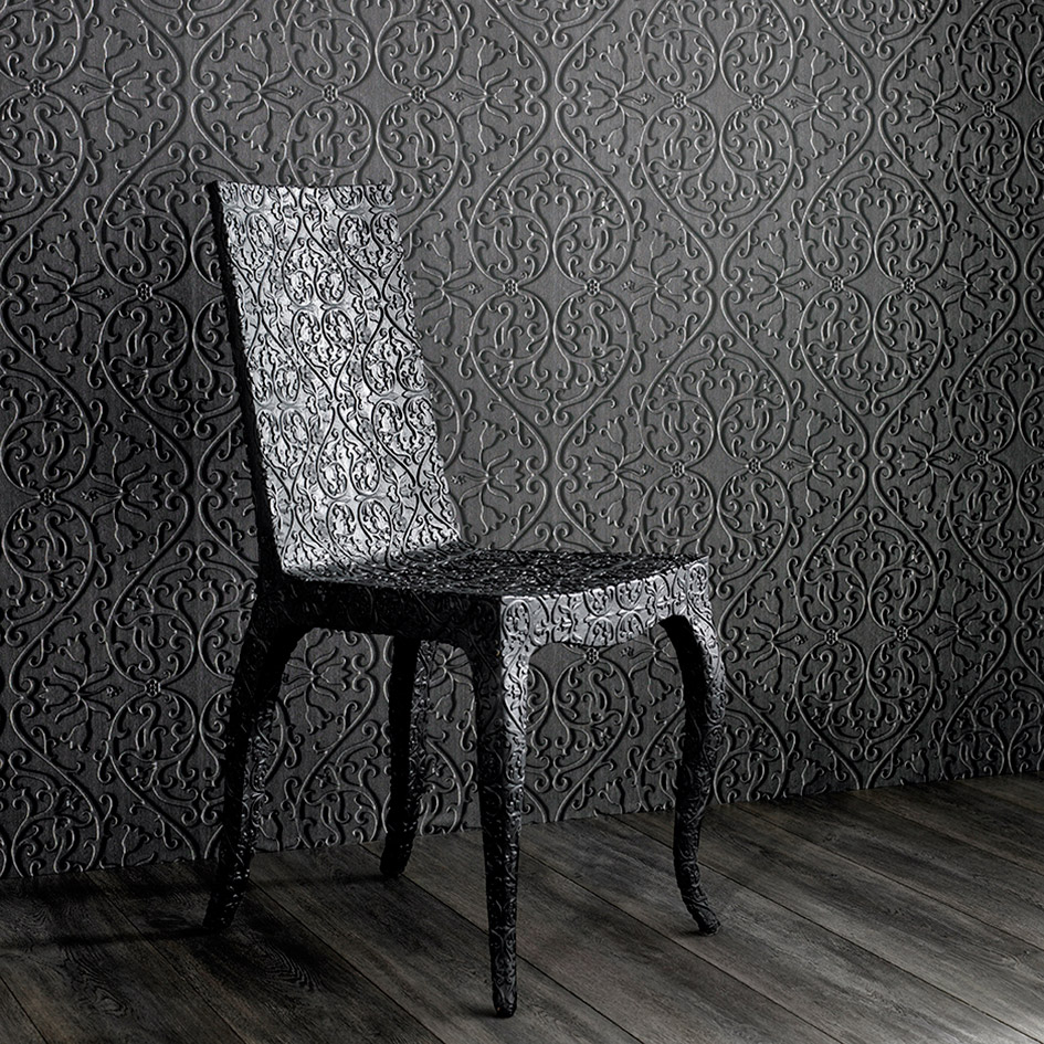 Wanders blue wanders forest flocked wallpaper damask wallpaper - Marcel Is Known For His Iconic Honeycomb Hexagonal Designs World Heritage Uses This Layout Which Creates A Stunning Hexagonal Tile Effect On Your Walls