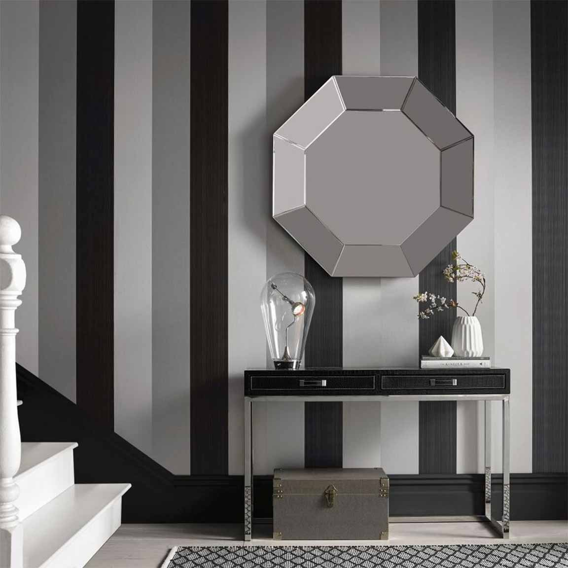 By Design Striped Wallpaper