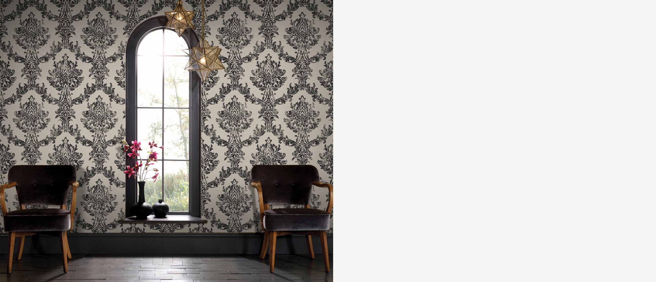 stylish removable interior wallpaper