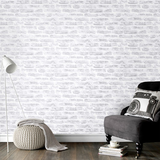 Perhaps you want to create a cosy family room with an urban theme loft living has inspired an influx of brick wallpaper designs of late and this season
