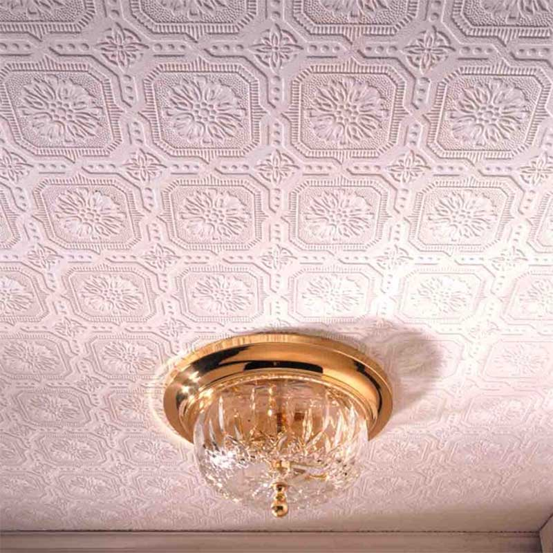 Wallpaper your ceiling