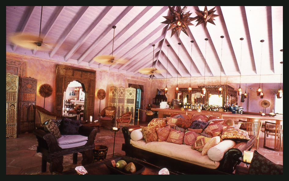 Barbara Hulanicki's 1970s living room was an exotic Belle Epoque-meets-Deco  den