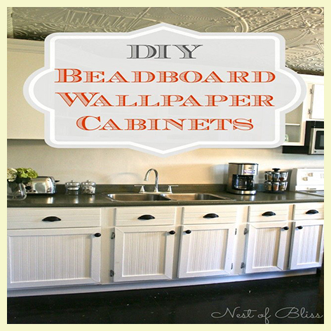 decorating with beadboard wallpaper