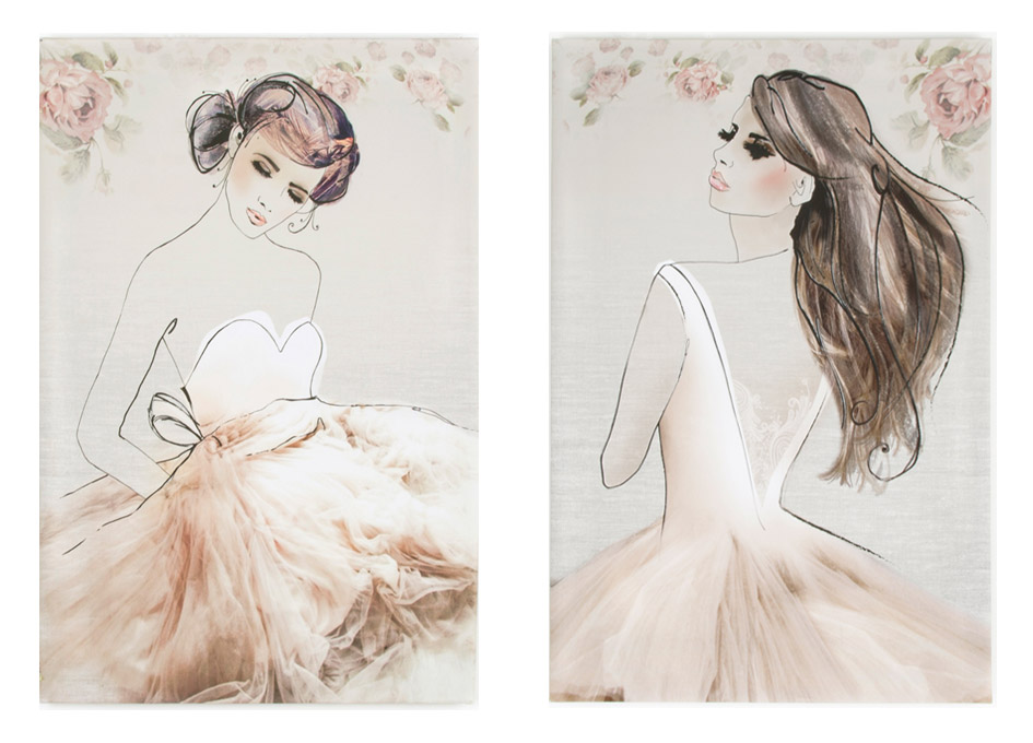 Ballerina Wall Art complete your room with our stunning classic collection