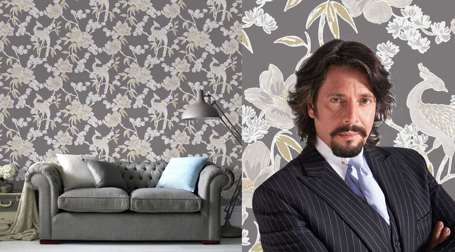 Wallpaper from Laurence Llewelyn Bowen