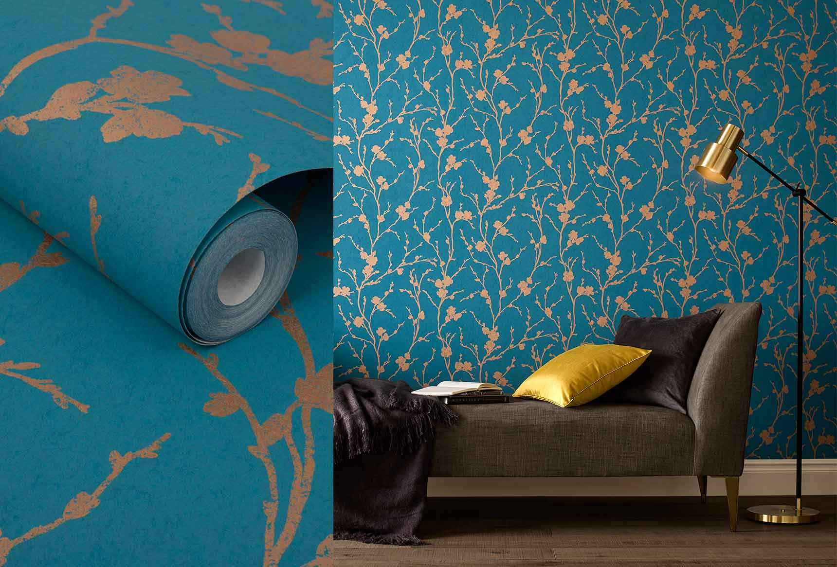 Wallpaper uk contemporary wallpapers graham brown for Wall looking wallpaper