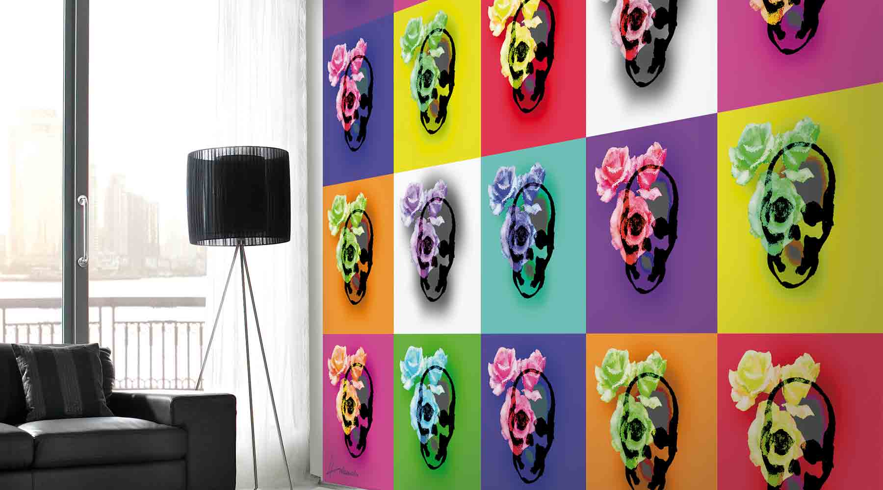 How to hang a Digital Wall Mural