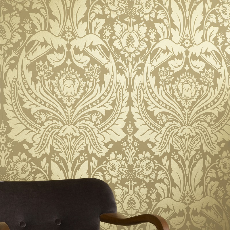 How to Style a Room with Yellow Wallpaper