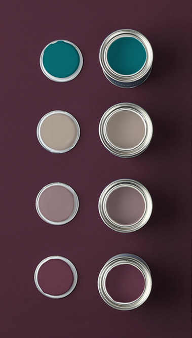 Paints Shown Whale Tail / Fondue / Spiced Mulberry / Epoch