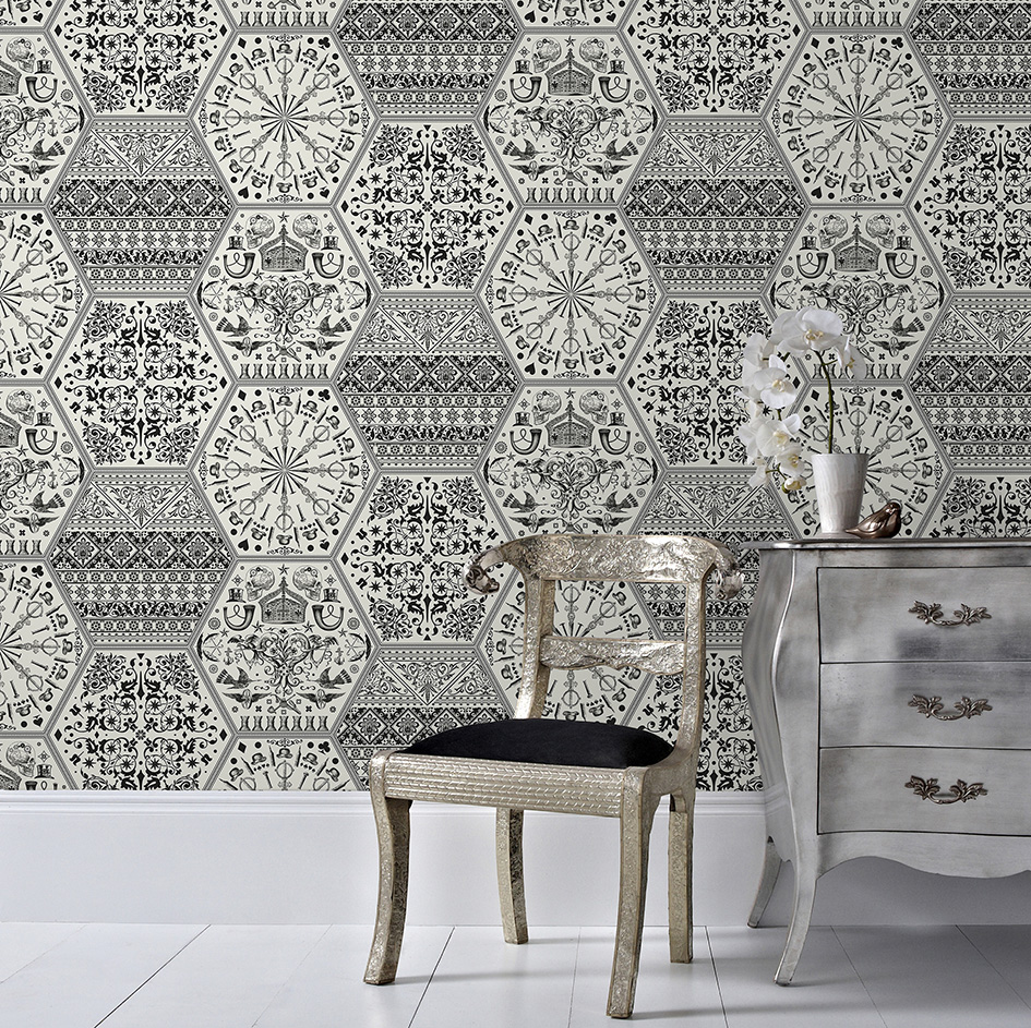 Statement wallpaper designs graham brown for Graham and brown bathroom wallpaper