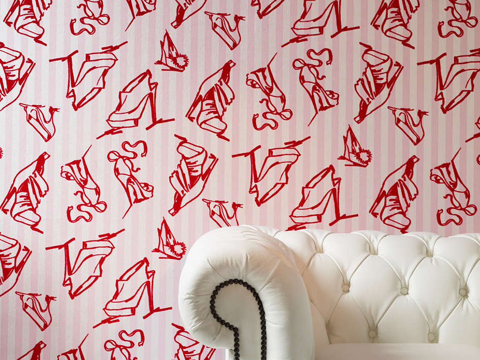 How to use unusual wallpaper in your home for Quirky wallpaper