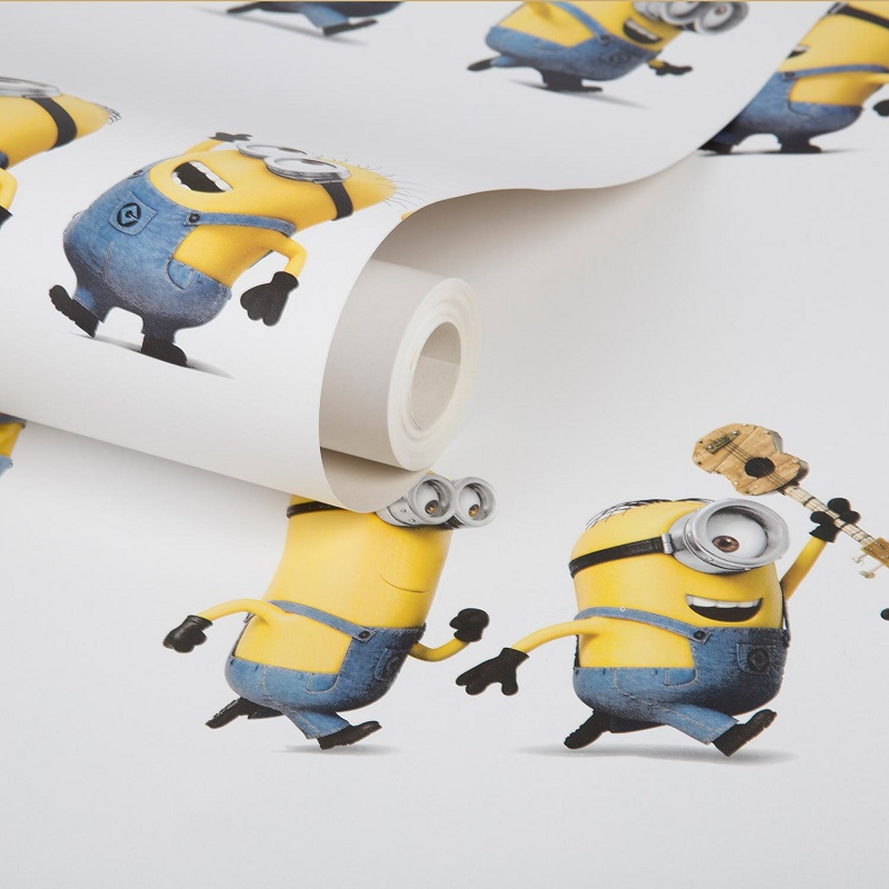 minions wallpaper graham brown uk. Black Bedroom Furniture Sets. Home Design Ideas
