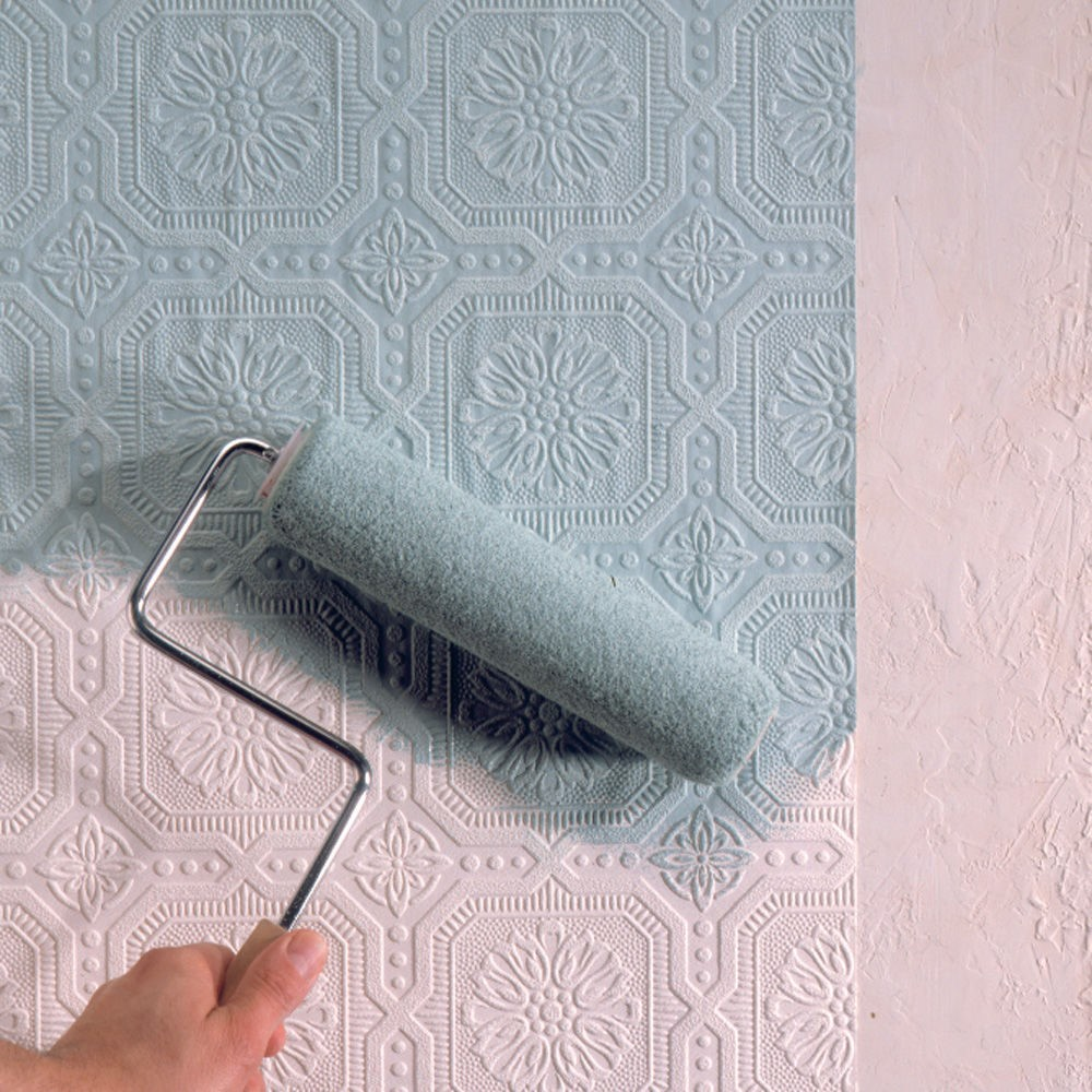 6 tips for choosing and applying paintable wallpaper