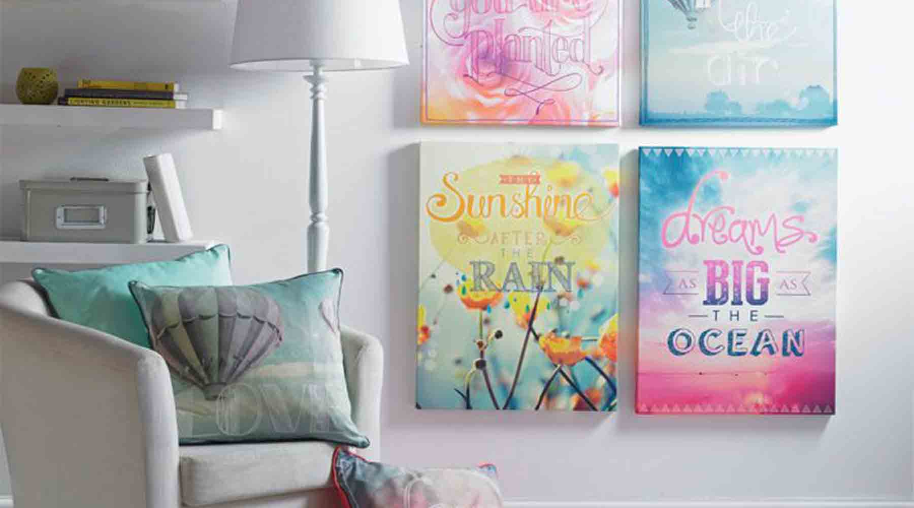 How to Accessorise with Cushions and Wall Art
