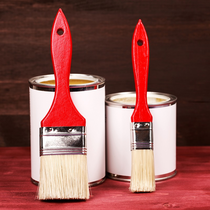 Choosing paint finishes