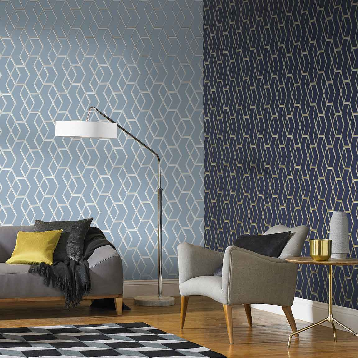 Wallpaper uk contemporary wallpapers graham brown - Best living room wallpaper designs ...
