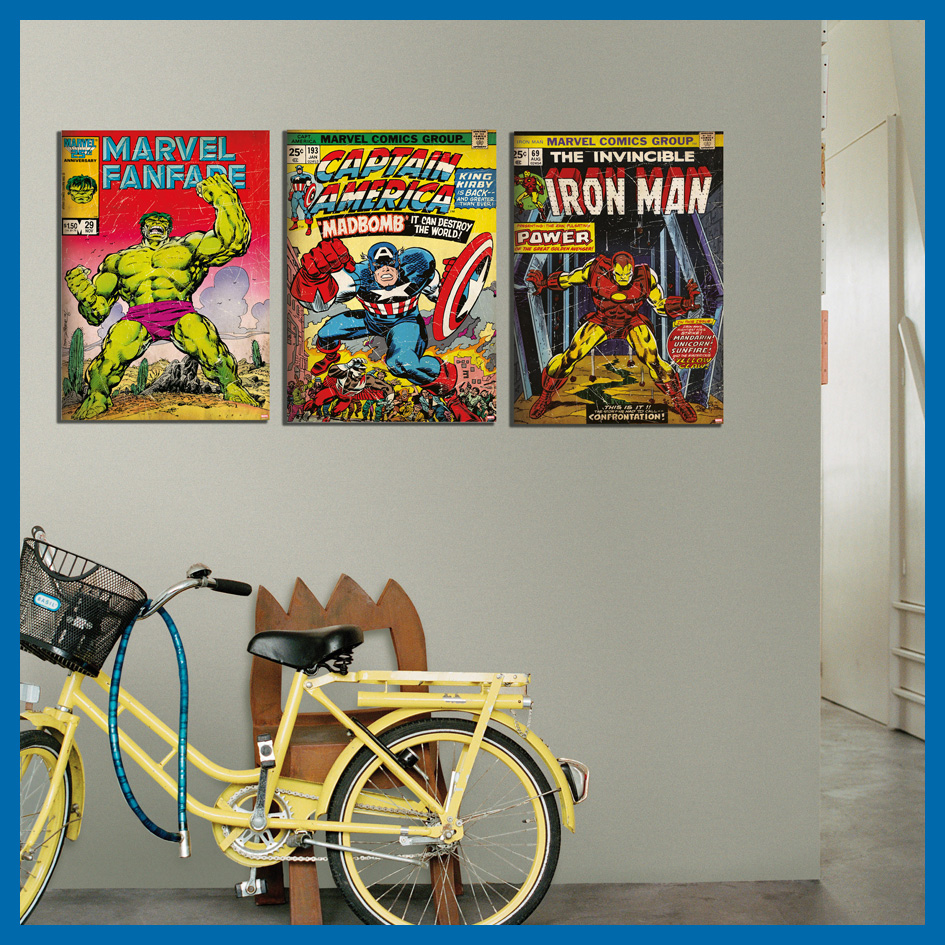 Marvel Wall Art marvel has arrived