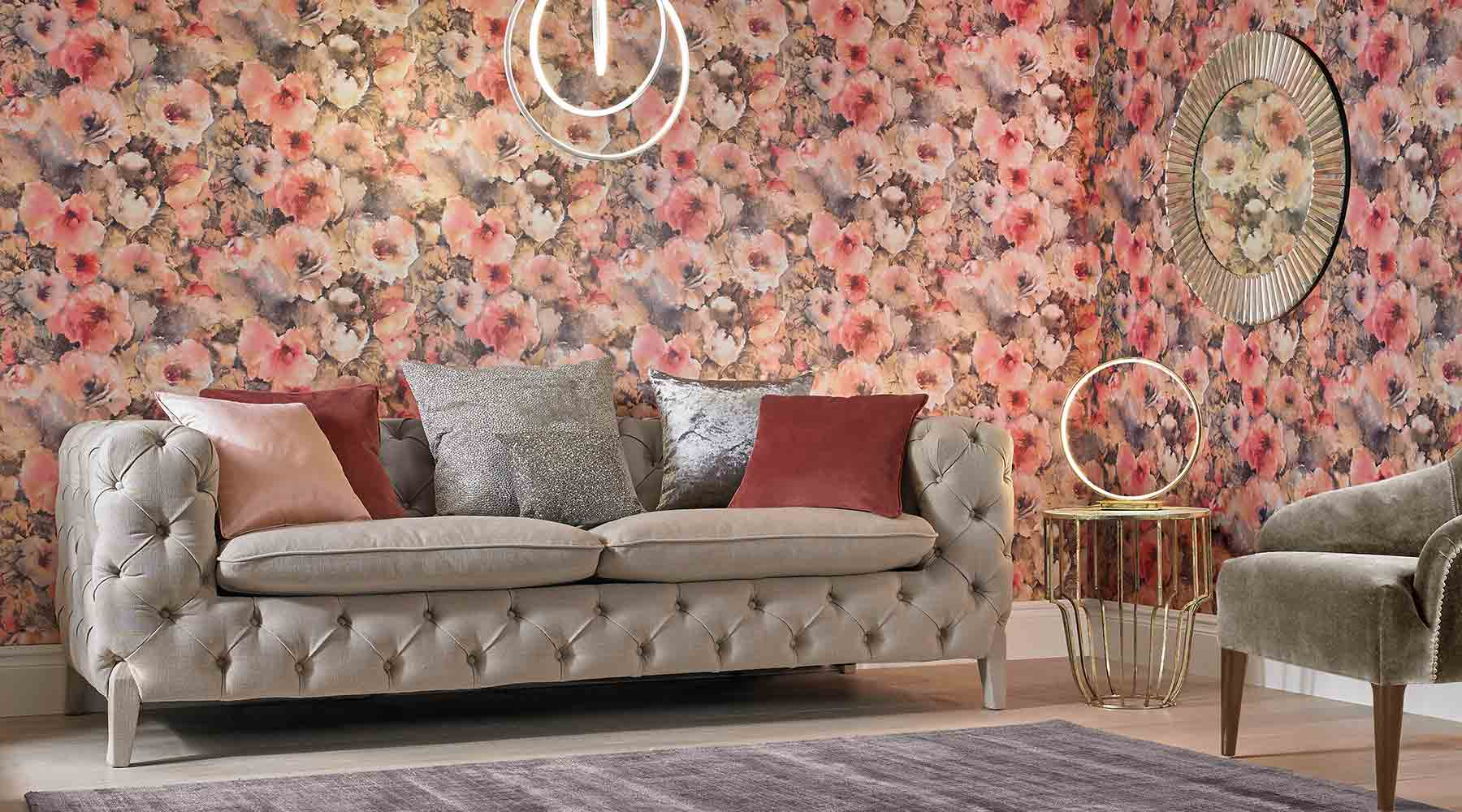 Here Are the 2018 Wallpaper Trends
